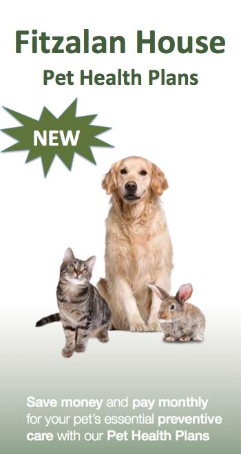 Fitzalan House Pet Health Plans